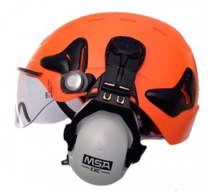 Kask WORK SHELL CT Komplet